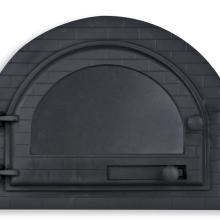 Porta forno igloo com vidro